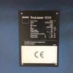 Stroj TruLaser 3030 (L20) k prodeji